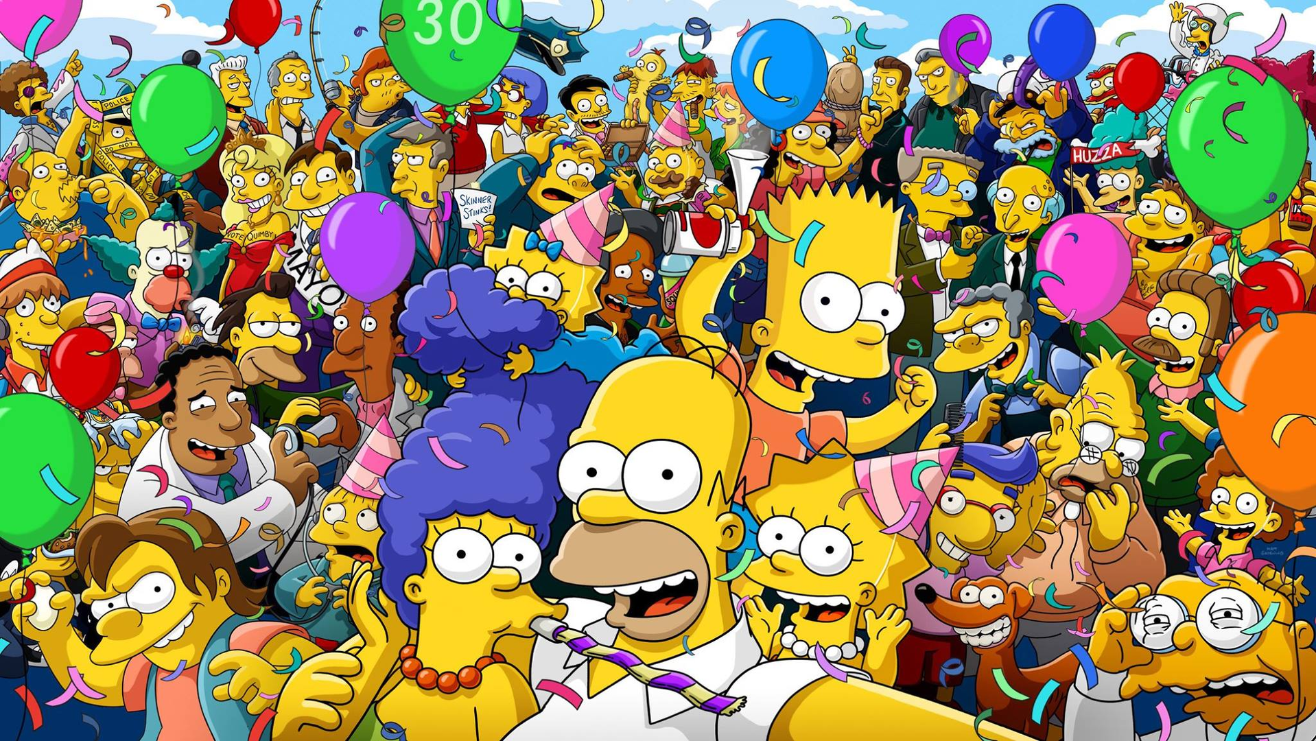 The Simpsons 30 Years